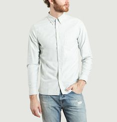 Chemise Unie Button Down