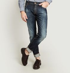 Jean Unity Slim Blue Premium Selvedge Denim