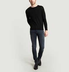 Jean Unity Slim Indigo Black Denim