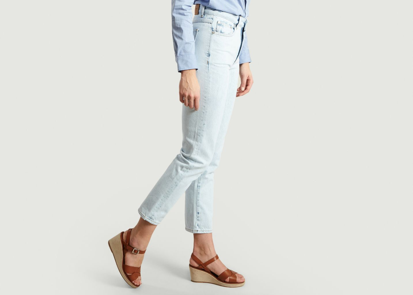 Jean Relaxed Fit Glow - Closed