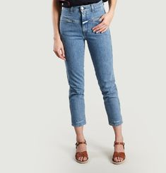 Pedal Pusher Jeans