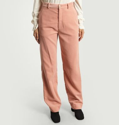 Pantalon En Velours Milla