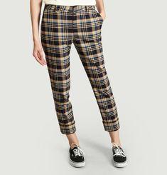 Pantalon A Carreaux 7/8e Stewart