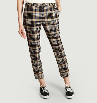 Pantalon A Carreaux 7/8e Stewart