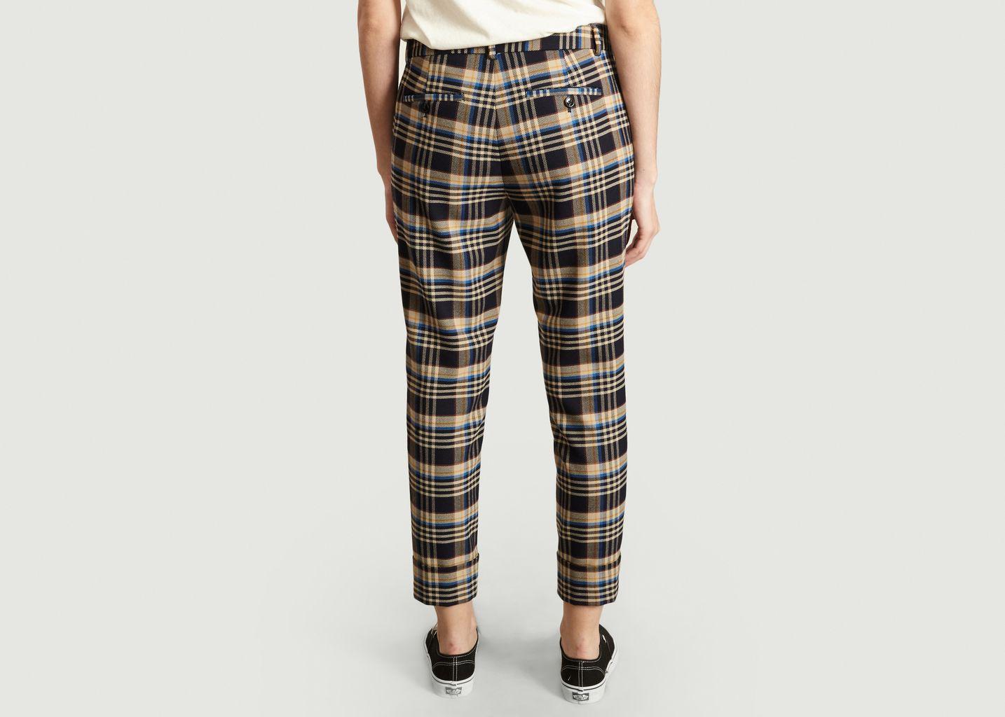 Pantalon A Carreaux 7/8e Stewart - Closed