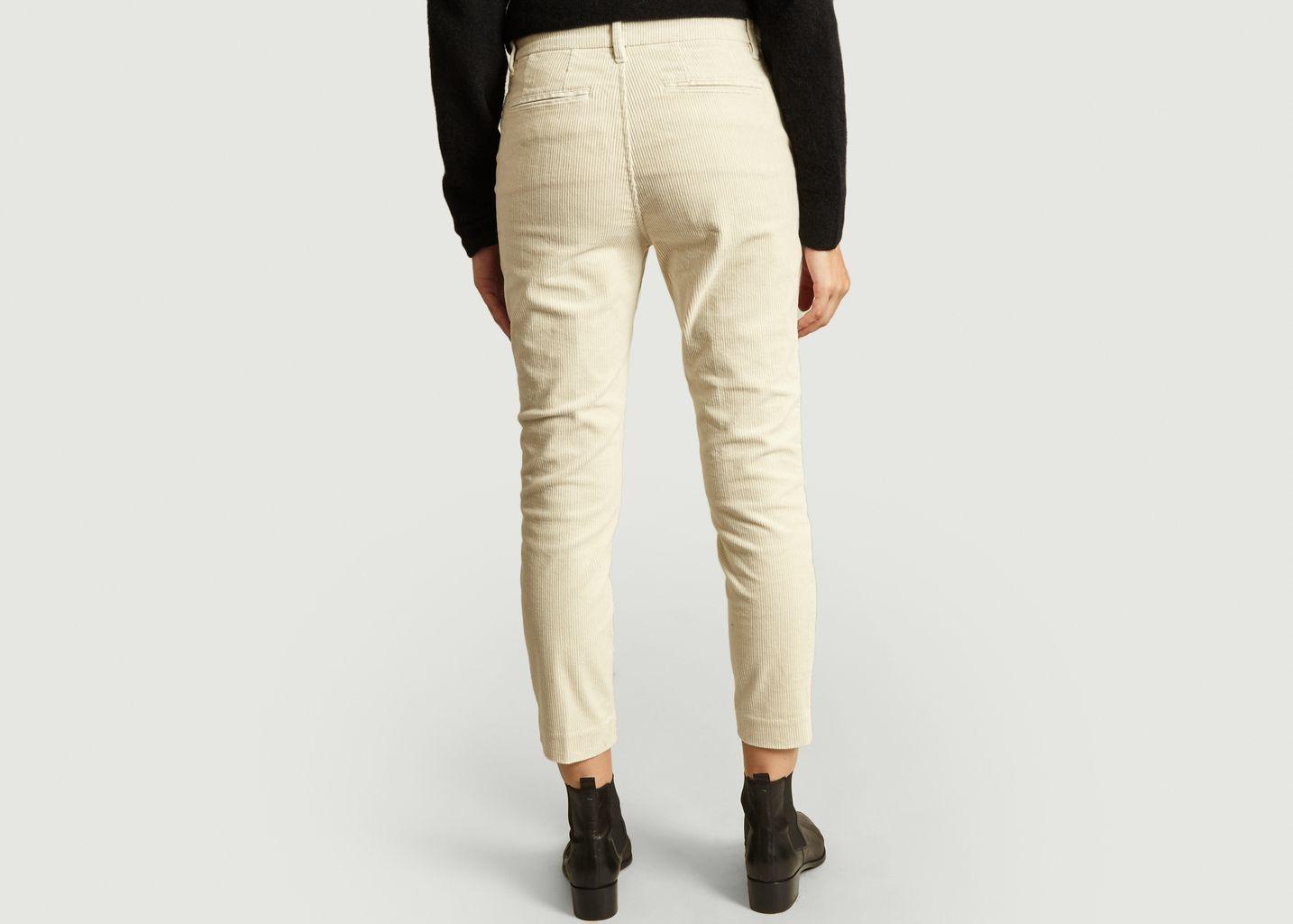 Pantalon En Velours 7/8e Jack - Closed