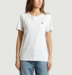 T-Shirt Avec Ecusson Women's Top