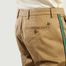 matière Pantalon Atelier Cropped Avec Bandes Latérales Rayées - Closed