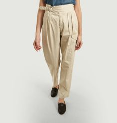 Gwen Adjustable Belted Trousers