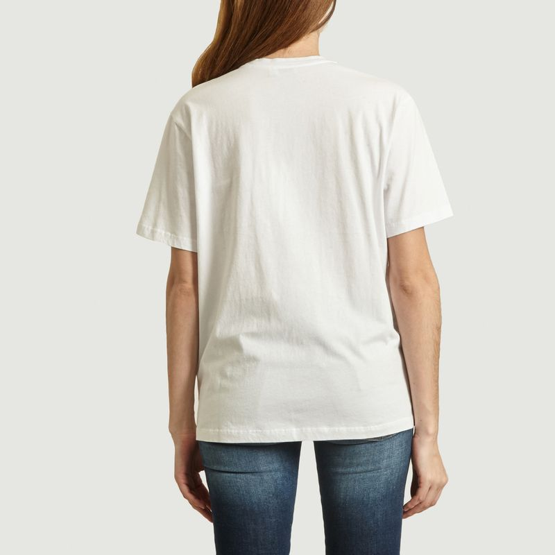 T-Shirt Brodé En Coton - Closed