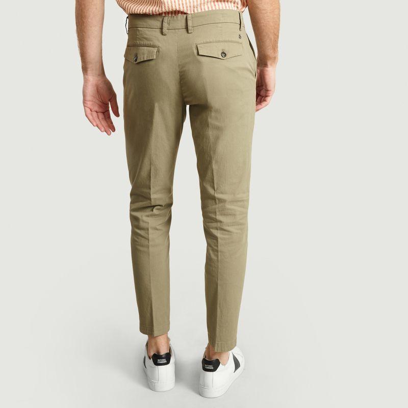 Pantalon en piqué coton - Closed