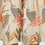 matière Jupe longue Leaf imprimée  - Closed
