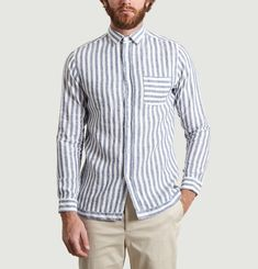 Trinquet Striped Shirt