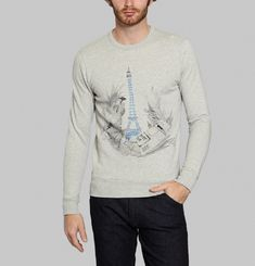Eiffel Jungle Sweatshirt