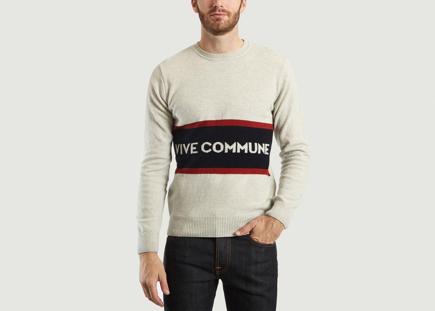 Pull Vive Commune - Commune de Paris