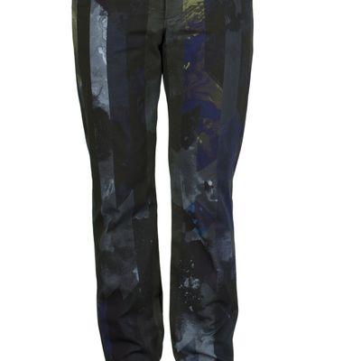 Pantalon GN6 - Imprimé bleu