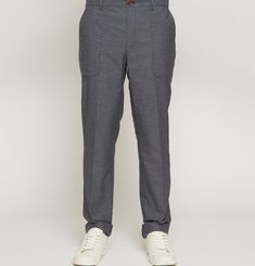 PANTALON GN10 - Navy chine