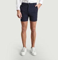 SP5 Seersucker Stripe Shorts