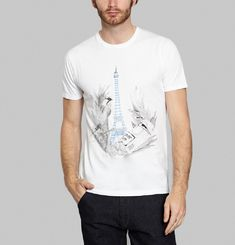 T-Shirt Jungle Eiffel