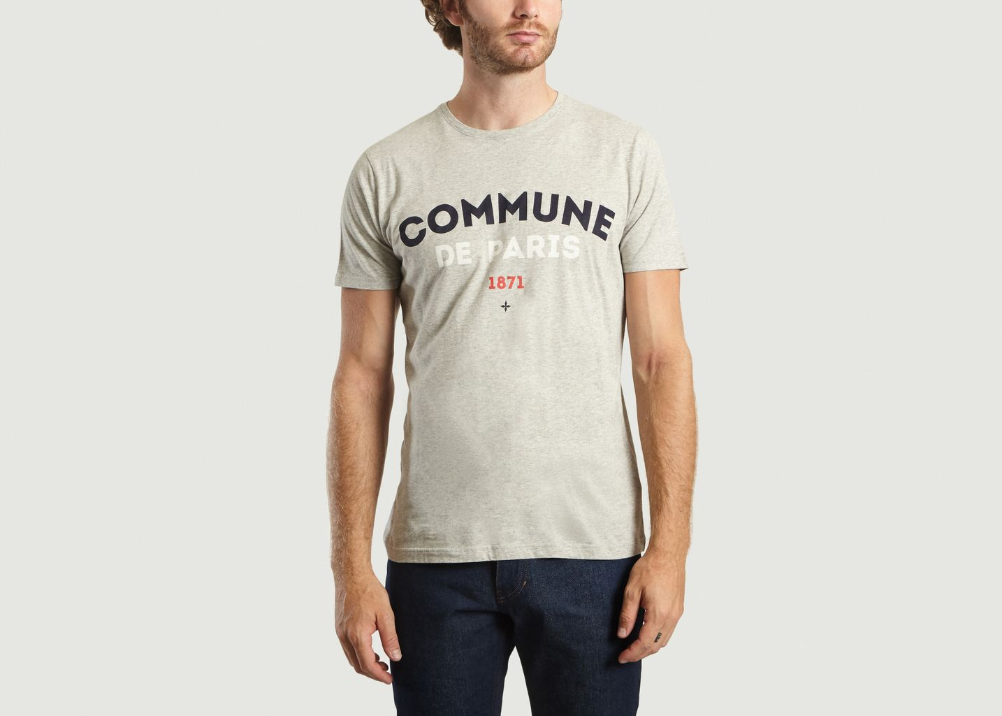 T-shirt Ici - Commune de Paris