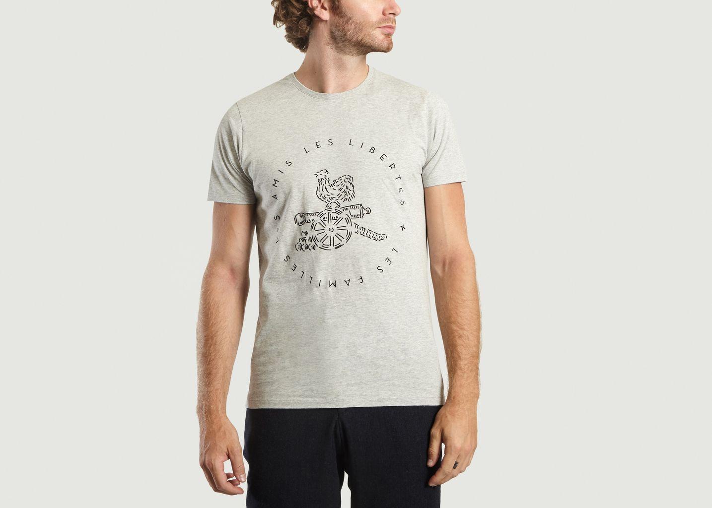 T-shirt Coq - Commune de Paris
