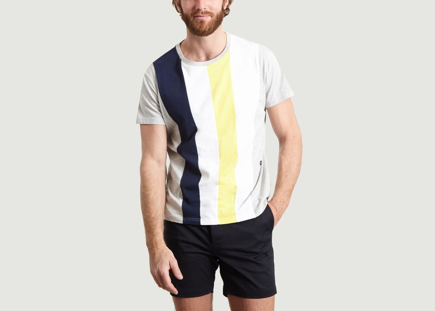 T-Shirt Imprimé Rayé Rayons - Commune de Paris