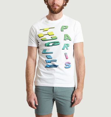 T-Shirt Imprimé Wordart