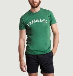 T-Shirt A Lettrage Familles