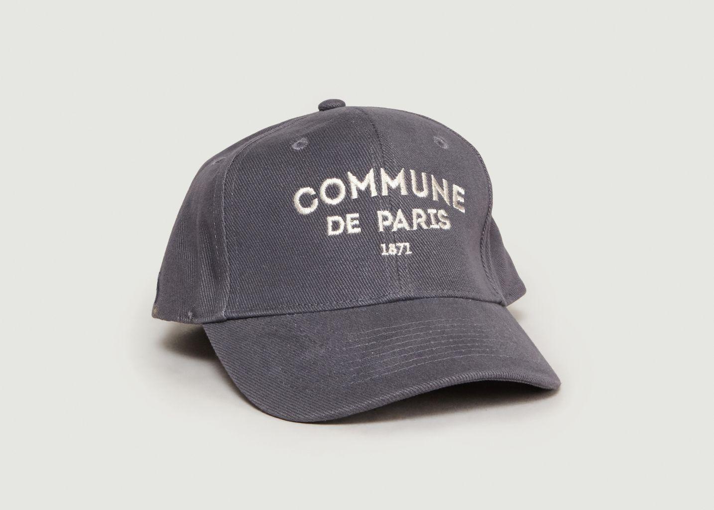 Casquette Siglée Ici - Commune de Paris