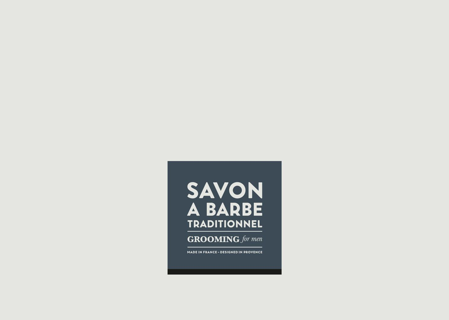 Savon à Barbe Traditionnel Grooming for Men 100g - La Compagnie de Provence