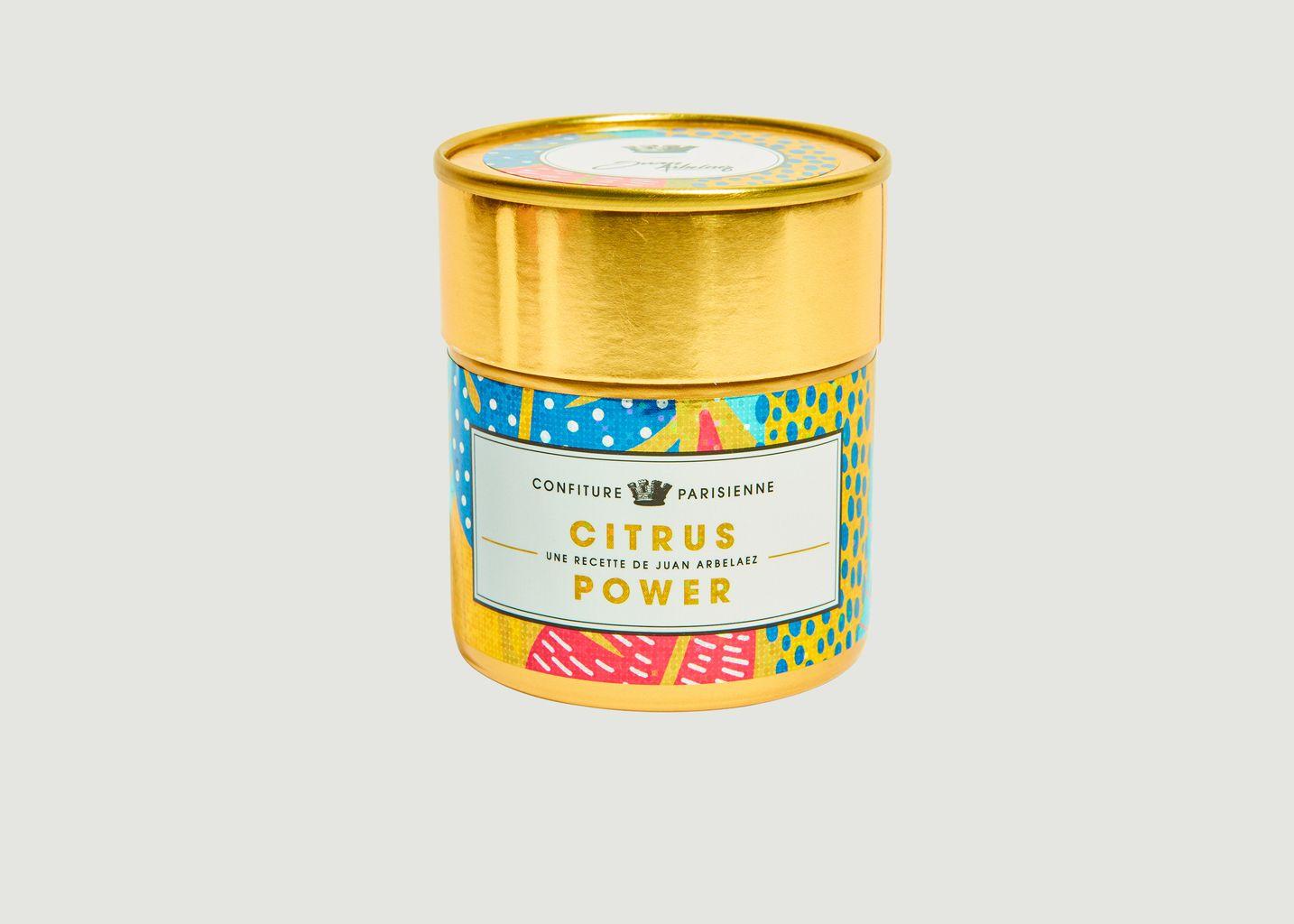 Citrus Power x Juan Arbelaez - Confiture Parisienne
