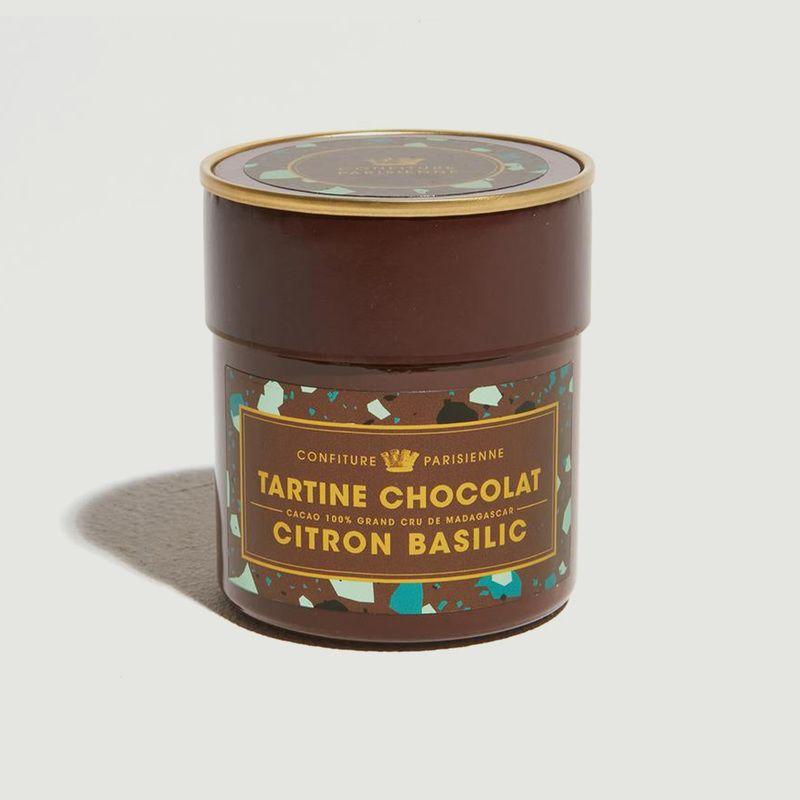 Pâte à tartiner Chocolat Citron Basilic - Confiture Parisienne