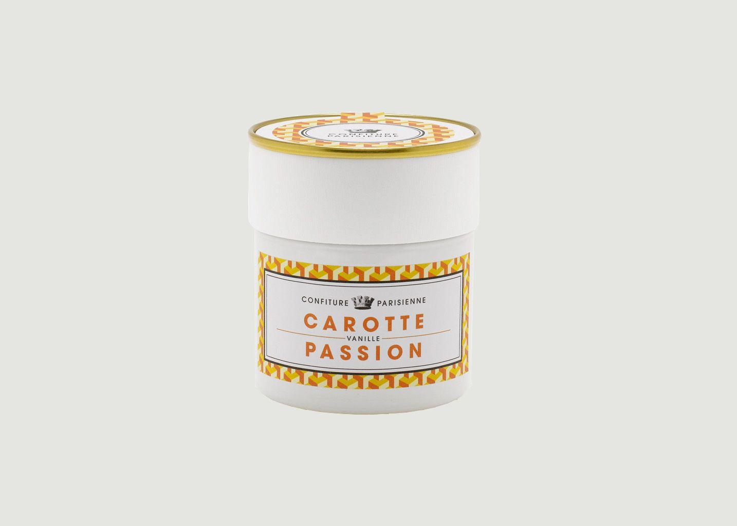 Confiture Carotte Vanille Passion  - Confiture Parisienne