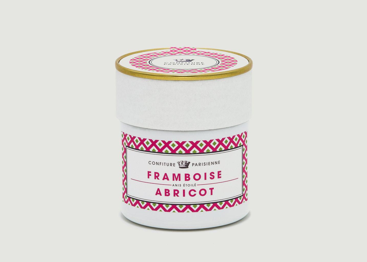 Confiture Framboise, Abricot, Anis Étoilé  - Confiture Parisienne