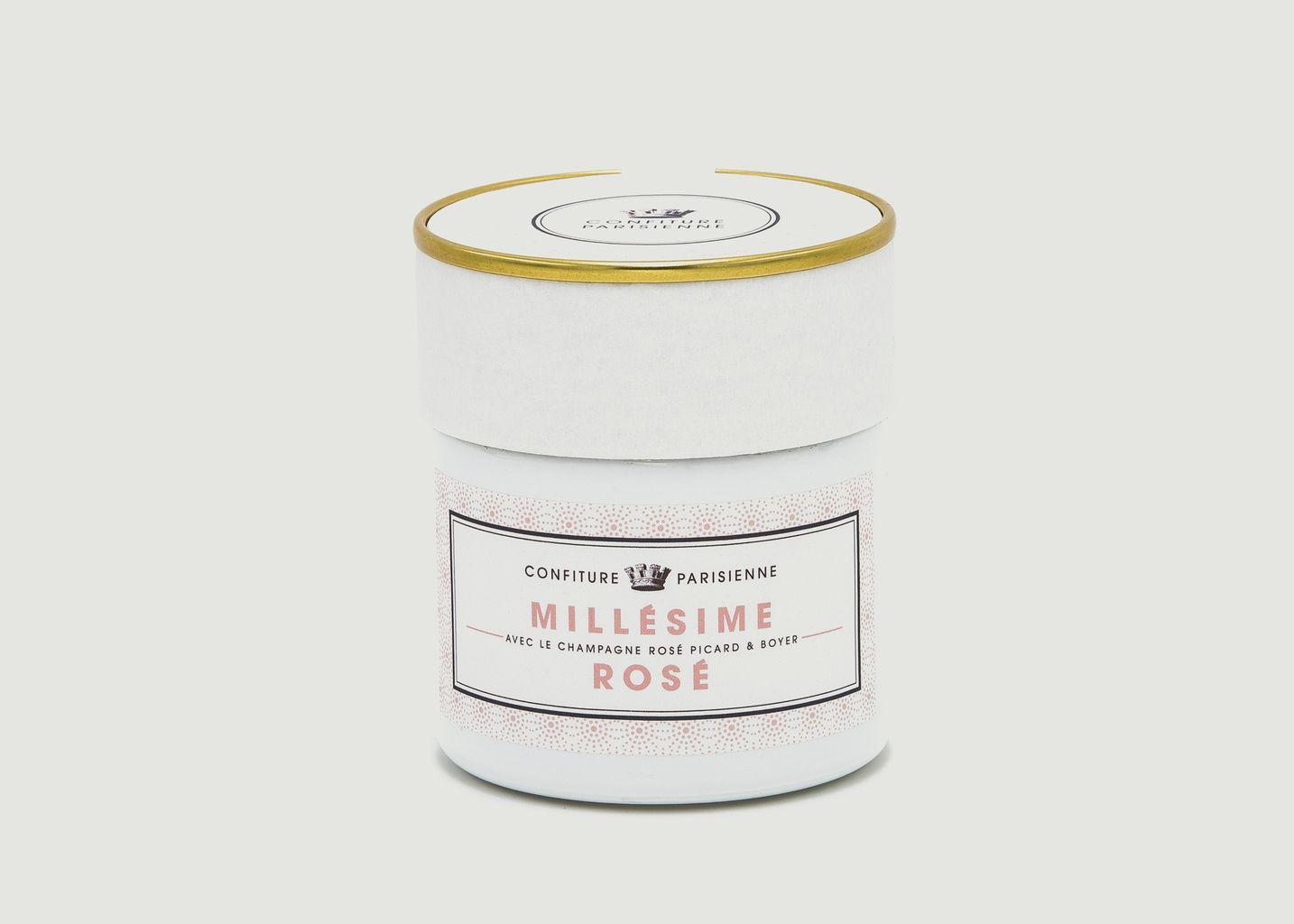 Confiture Millésime Rosé - Confiture Parisienne