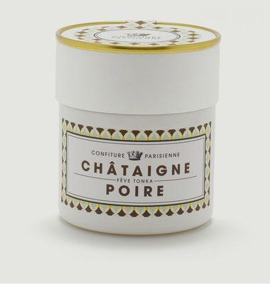 Confiture Châtaigne, Poire, Fève Tonka