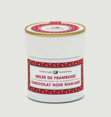 Raspberry and Manjari Dark Chocolate Jam