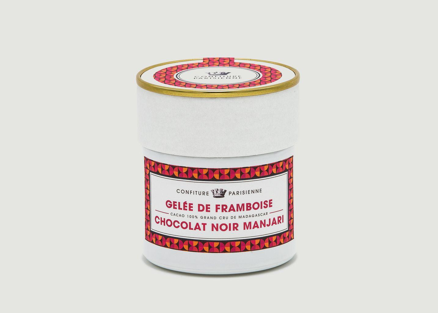 Gelée De Framboise Et Chocolat Noir Manjari  - Confiture Parisienne