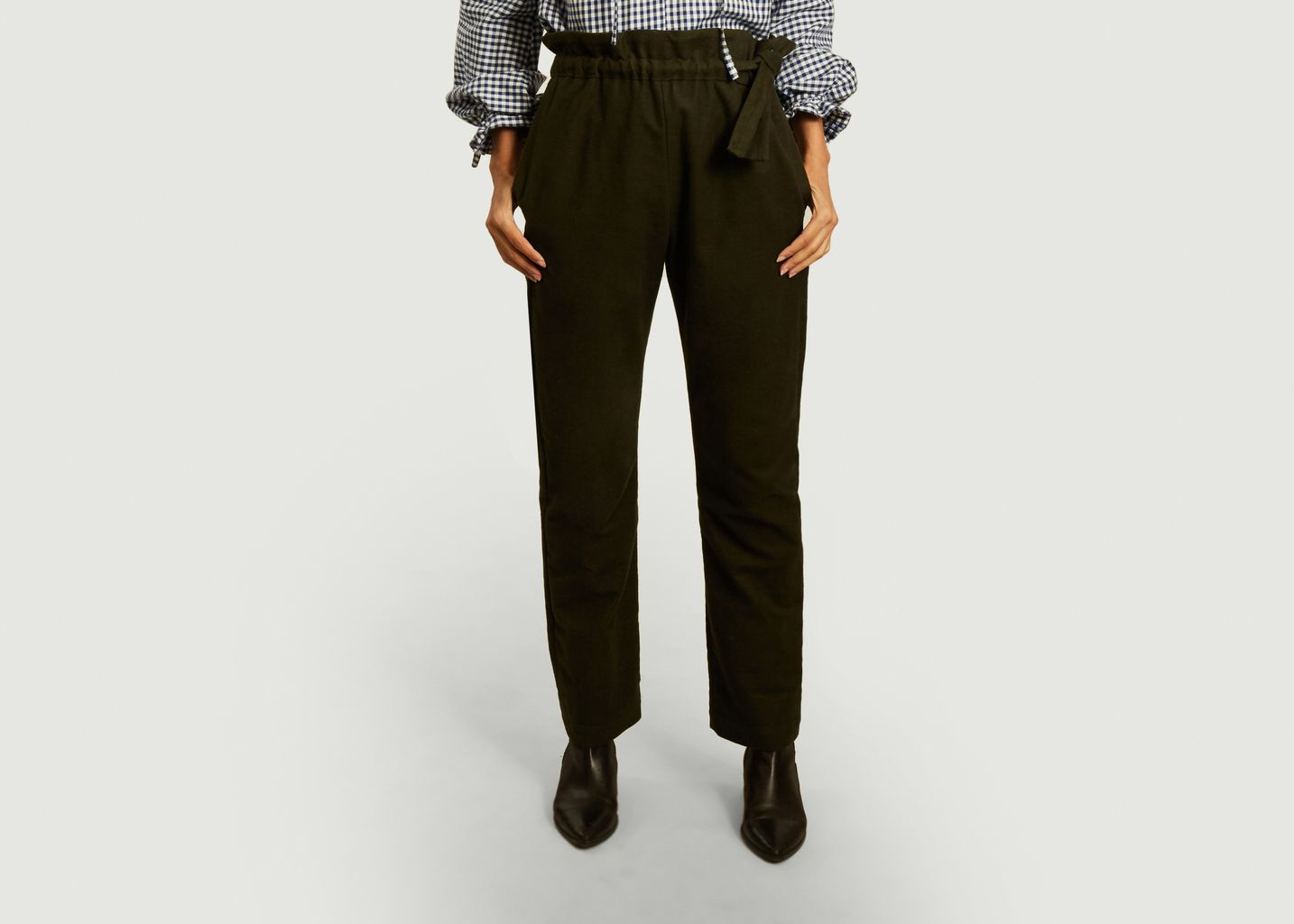 Pantalon en coton Louise - Gaëlle constantini