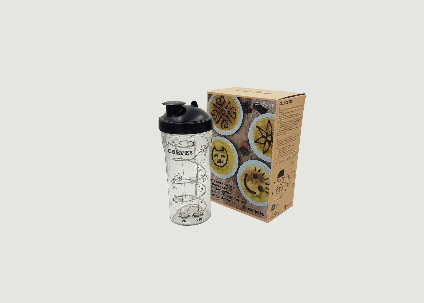 Shaker à Crêpes et Pancakes 80cl - Cookut