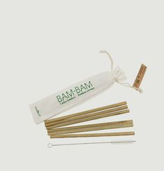 Reusable Bamboos Straws