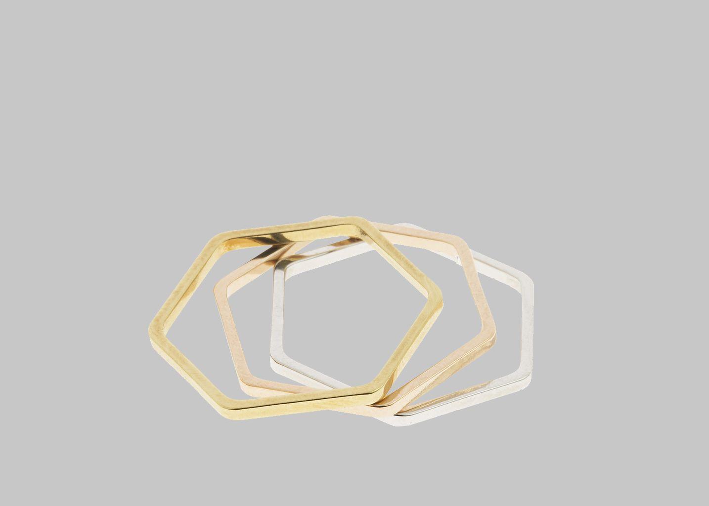 Bague Hexagone - Coralie de Seynes