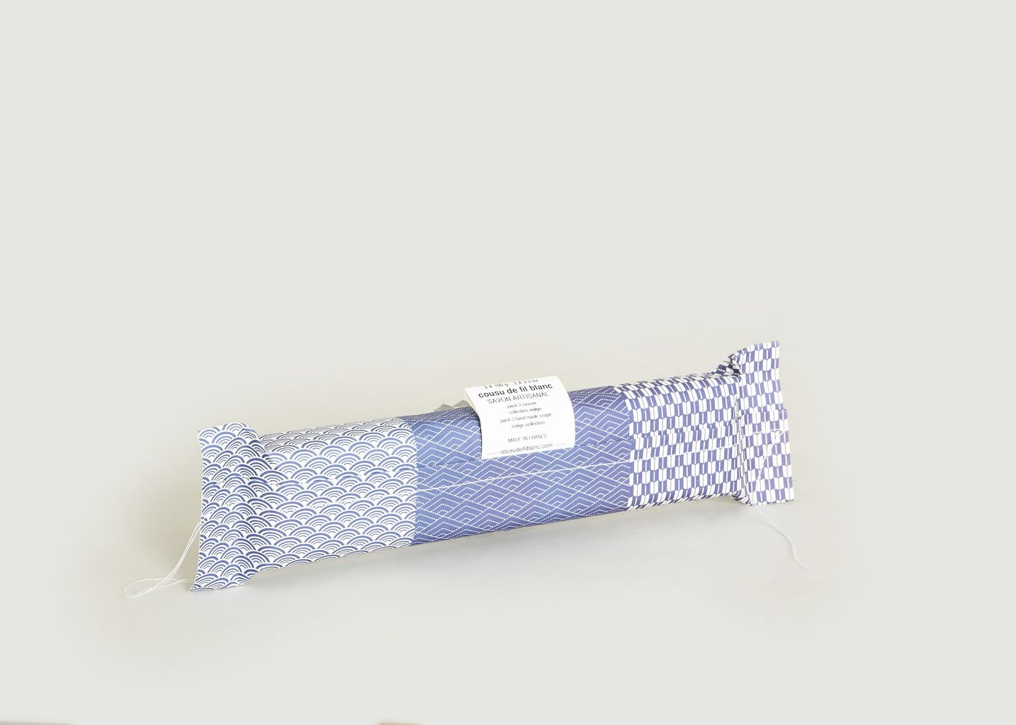 Pack 3 Savons Indigo - cousu de fil blanc