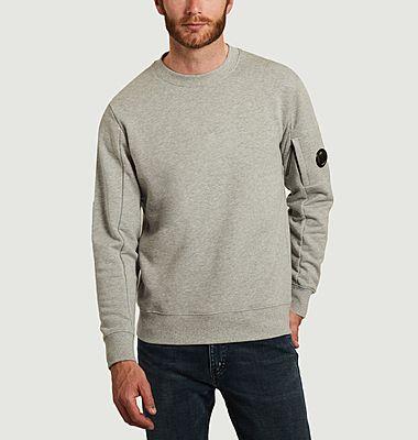 Sweatshirt Diagonal Raised Fleece