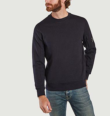 Diagonal Raised Fleece Sweatshirt