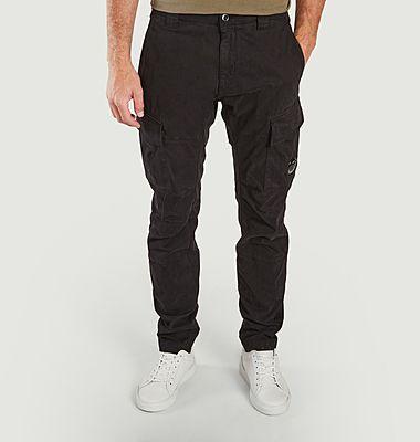 Stretch Sateen Cargo Pants