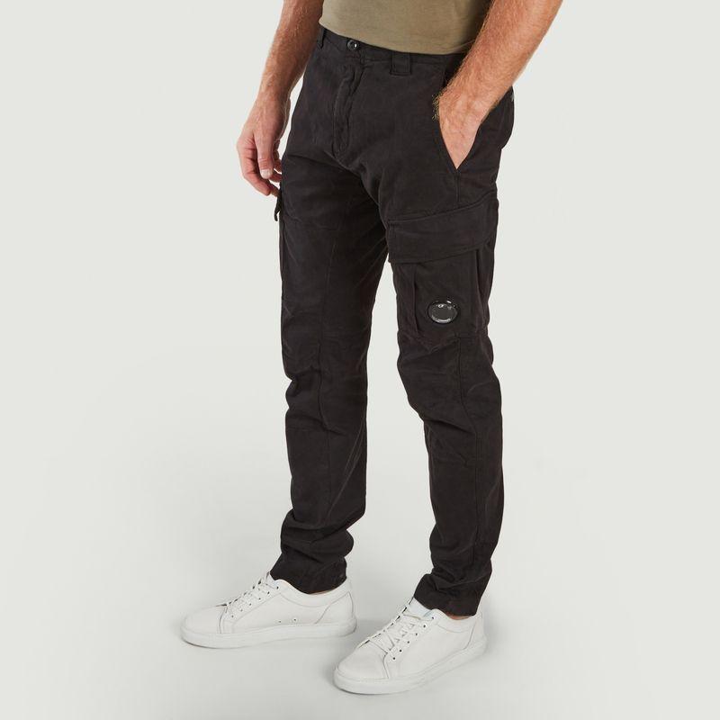 Stretch Sateen Cargo Pants - C.P. COMPANY