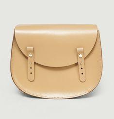 Moon Sherpa Flap Handbag