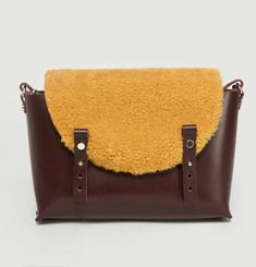 Removable Flap Study Satchel
