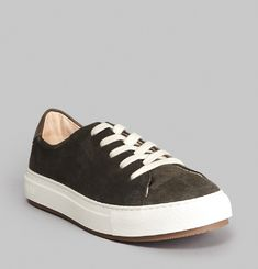 Suede Past Trainers